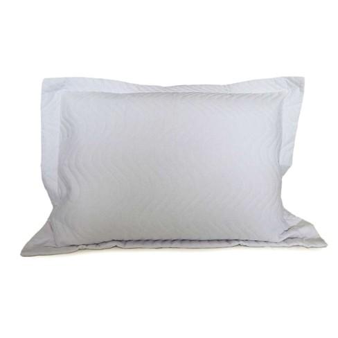 Porta Travesseiro Avulso Matelassê 80x60 - Appel - Branco