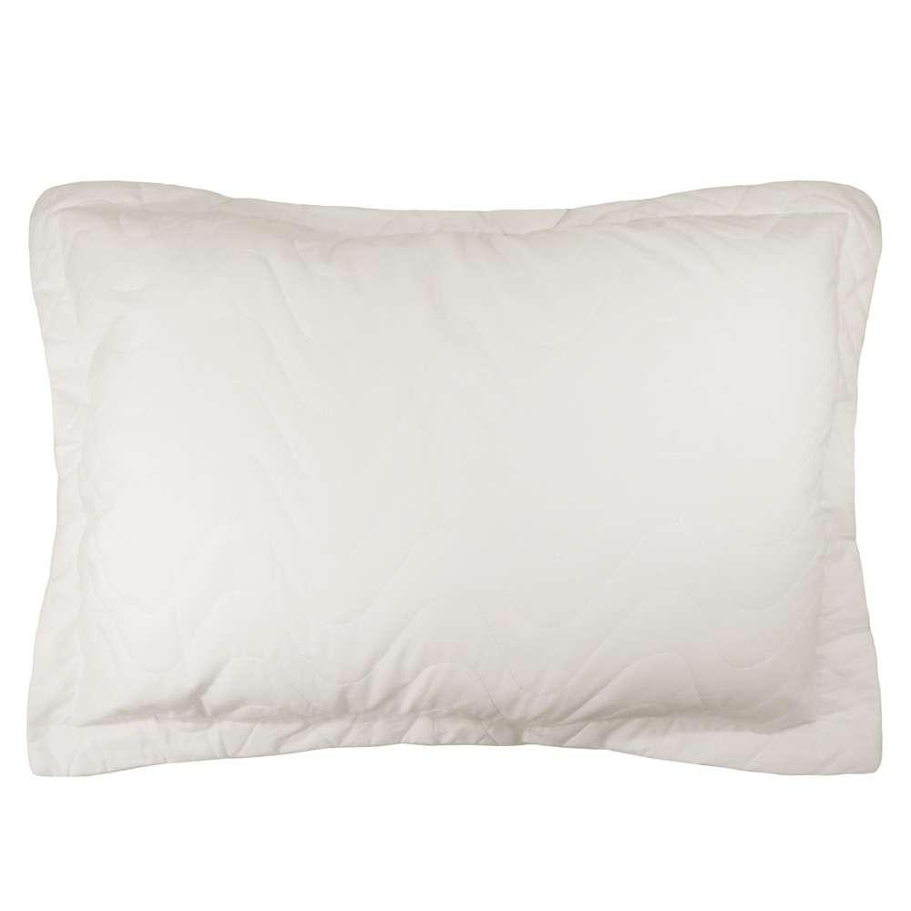 Porta Travesseiro Percal 300 Fios - Appel Home - Perola