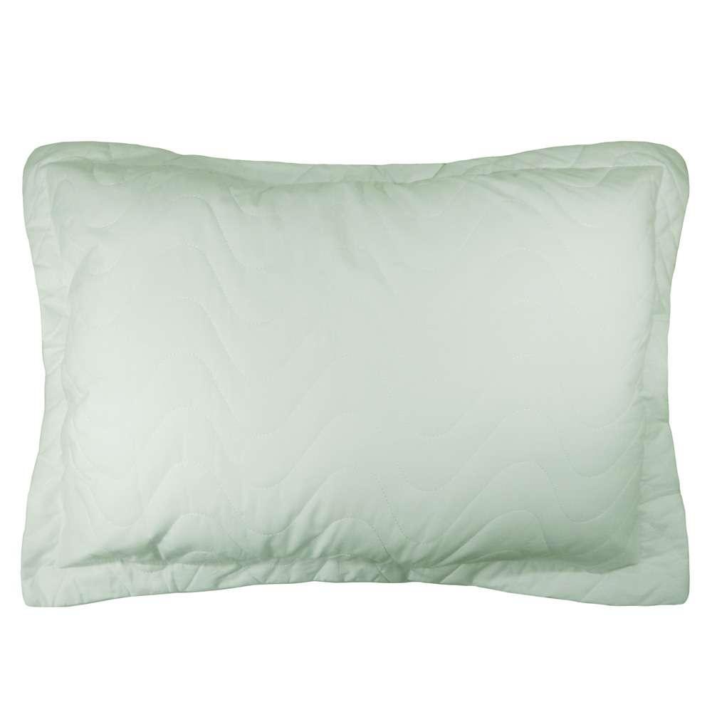 Porta Travesseiro Percal 300 Fios - Appel Home - Verde