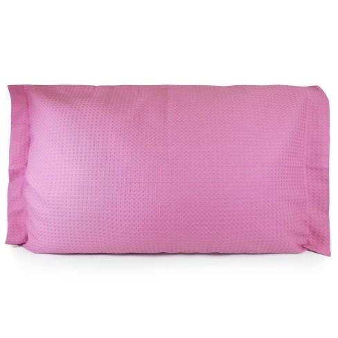 Porta Travesseiro Piquet - Teka - Rosa