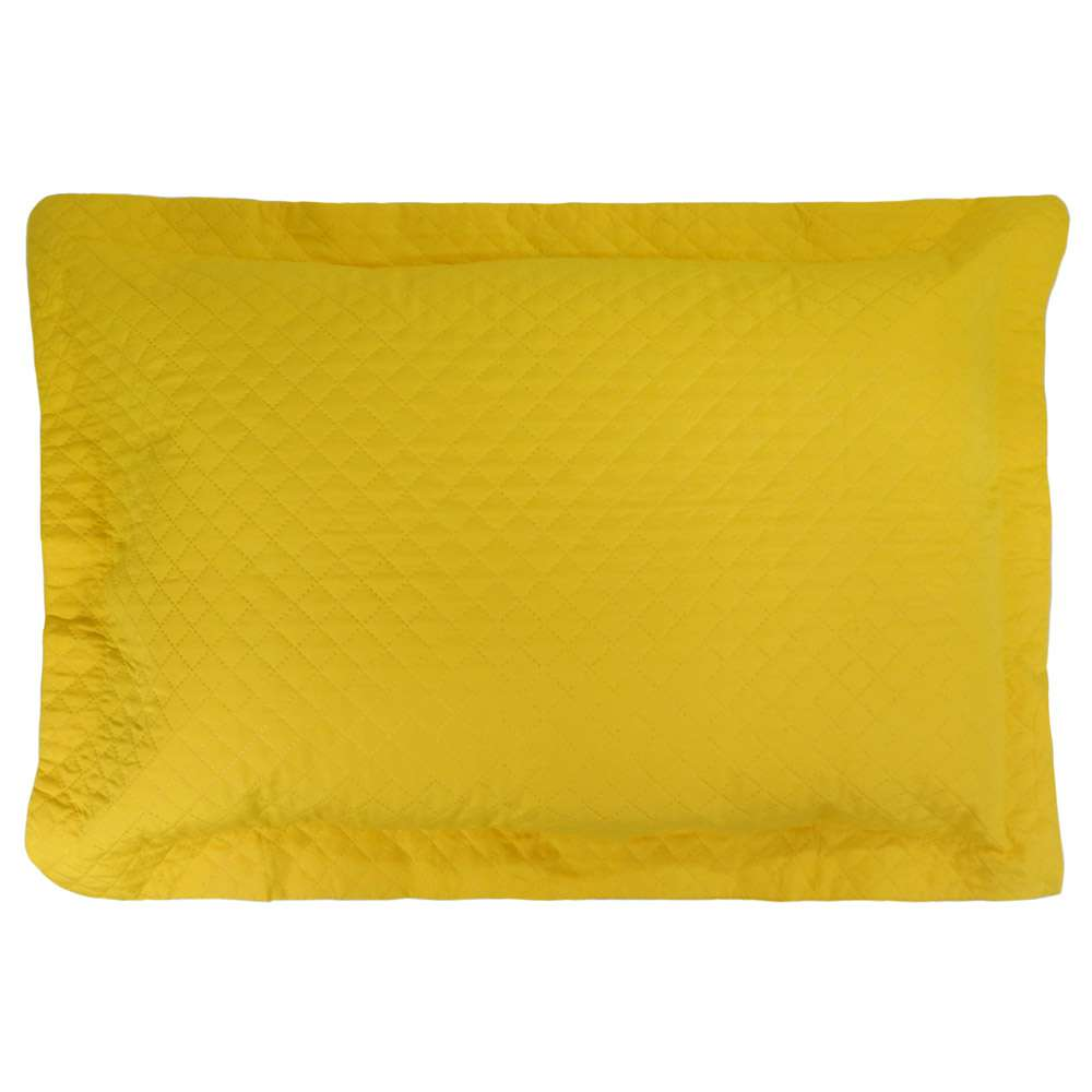 Porta Travesseiro Ultrassônico 80x60 - Appel - Amarelo