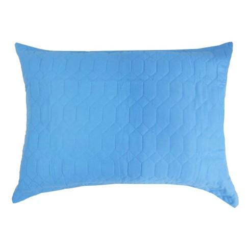 Porta Travesseiro Ultrassônico Slim 50x70 - Appel - Azul claro
