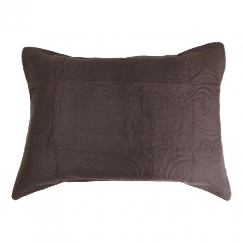 Porta Travesseiro Ultrassônico Slim 50x70 - Appel - Marrom