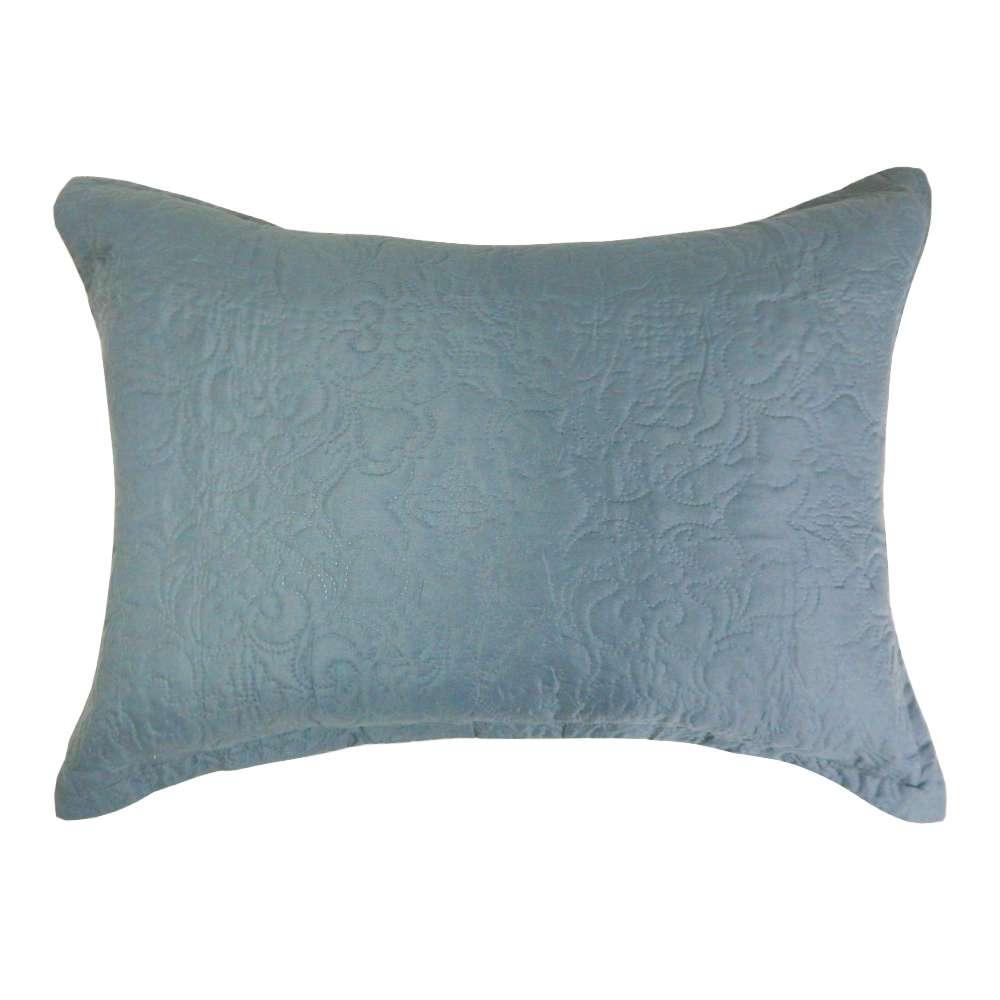 Porta Travesseiro Ultrassônico Slim 50x70 - Appel - Cinza