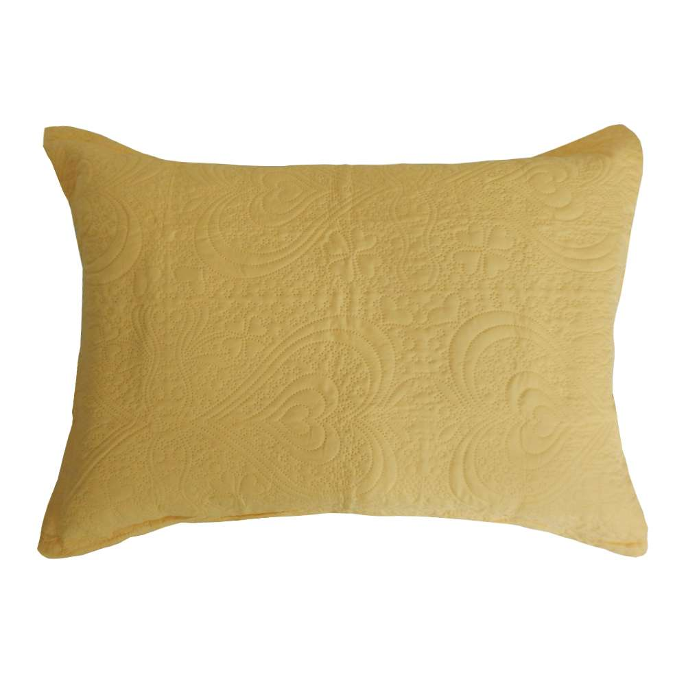 Porta Travesseiro Ultrassônico Slim 50x70 - Appel - Amarelo