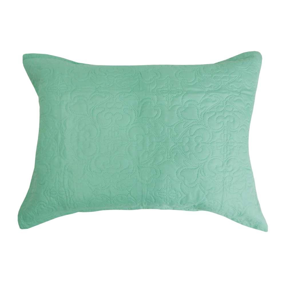 Porta Travesseiro Ultrassônico Slim 50x70 - Appel - Verde