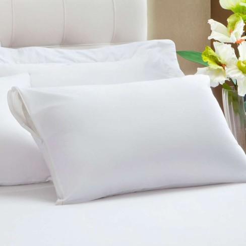 Protetor de Travesseiro em Malha Impermeável 50x70 - Kacyumara - Branco