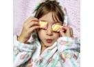 Roupão Flannel com Capuz Kids Infantil - Toalhas Appel - Marshmallow