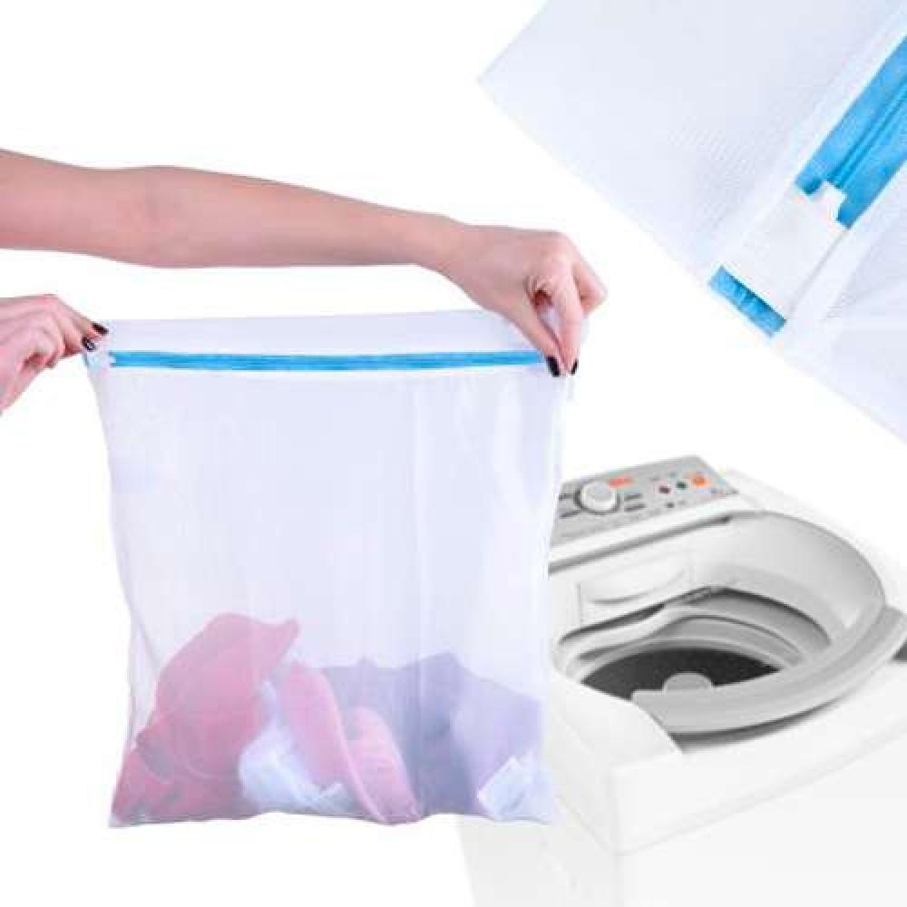 Saco para Lavar Roupas - Panosul - Branco