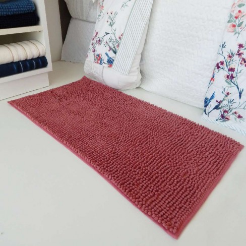 Tapete Base Antiderrapante Latex Popcorn 50x70 - Toalhas Appel - Rosa blush