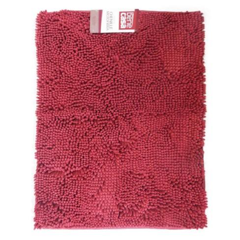 Tapete Microfibra Chenille 0,50m x 0,70m - Bene Casa - Vermelho