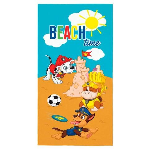 Toalha de Praia Aveludada Kids Personagens 70x140 - Lepper - Patrulha masc.
