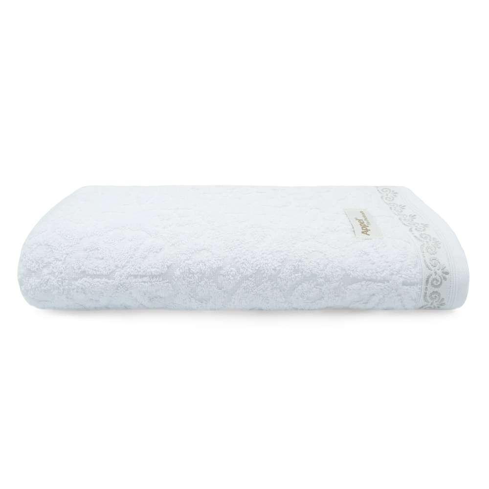 Toalha Banhão Ornato Fio Penteado - Appel - Branca