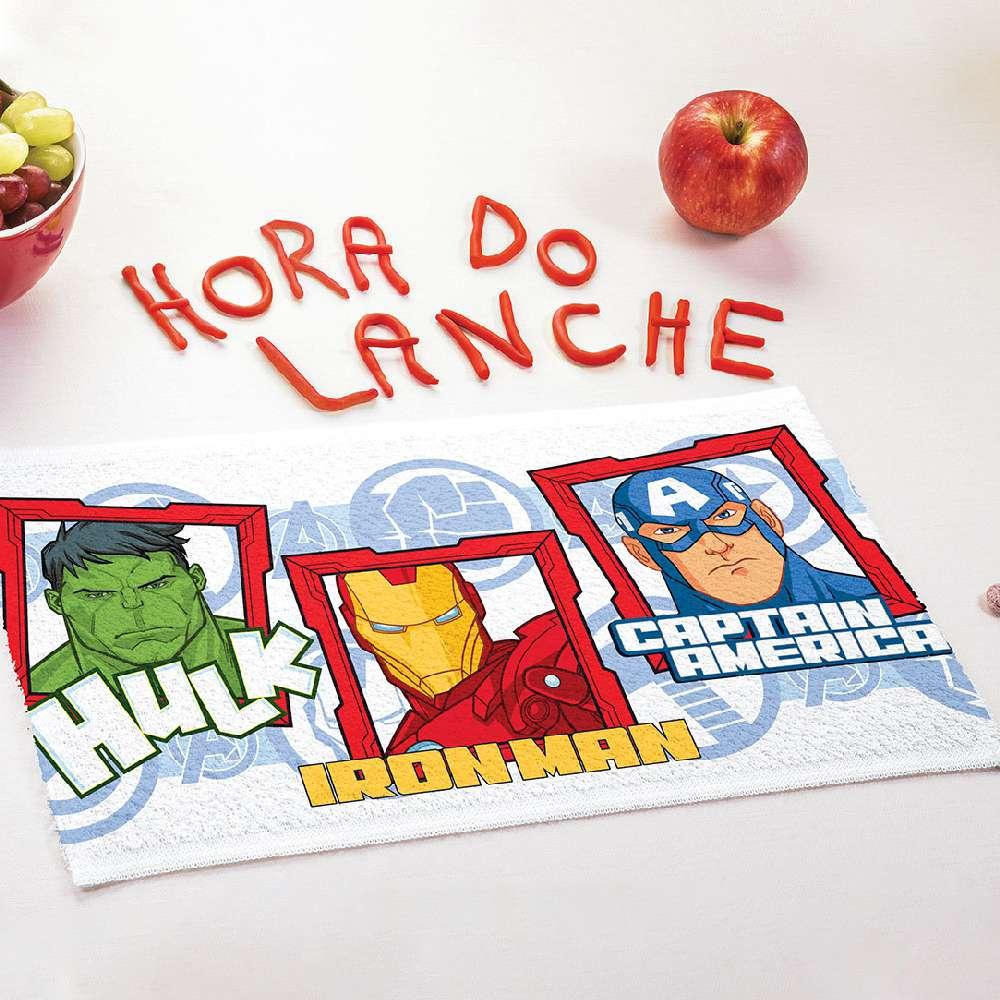 Toalha Lancheira Personagem - Lepper - Avengers