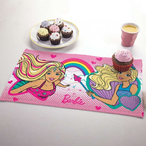 Toalha Lancheira Personagem - Lepper - Barbie