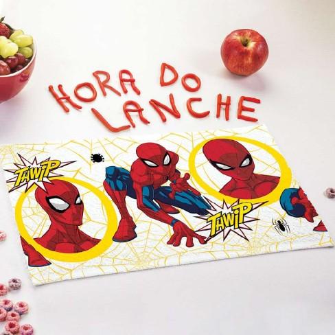 Toalha Lancheira Personagem - Lepper - Homem aranha