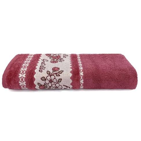 Toalha de Banho Afetto 68x135 - Toalhas Appel - Rosa glamour