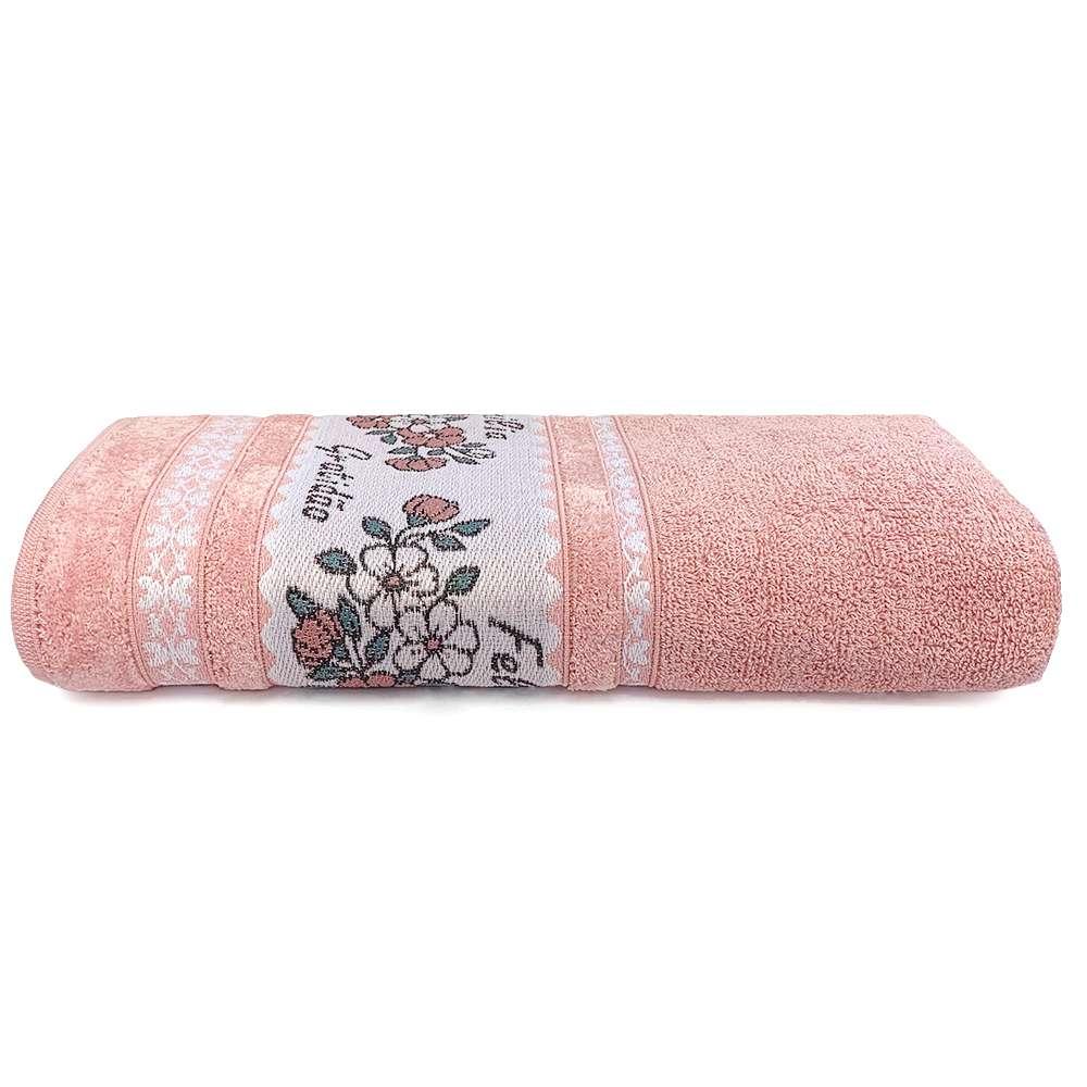 Toalha de Banho Afetto 68x135 - Toalhas Appel - Rosa quartzo