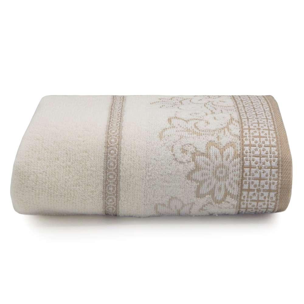 Toalha de Banho Di Fiori 68x1,35 - Toalhas Appel - Perola