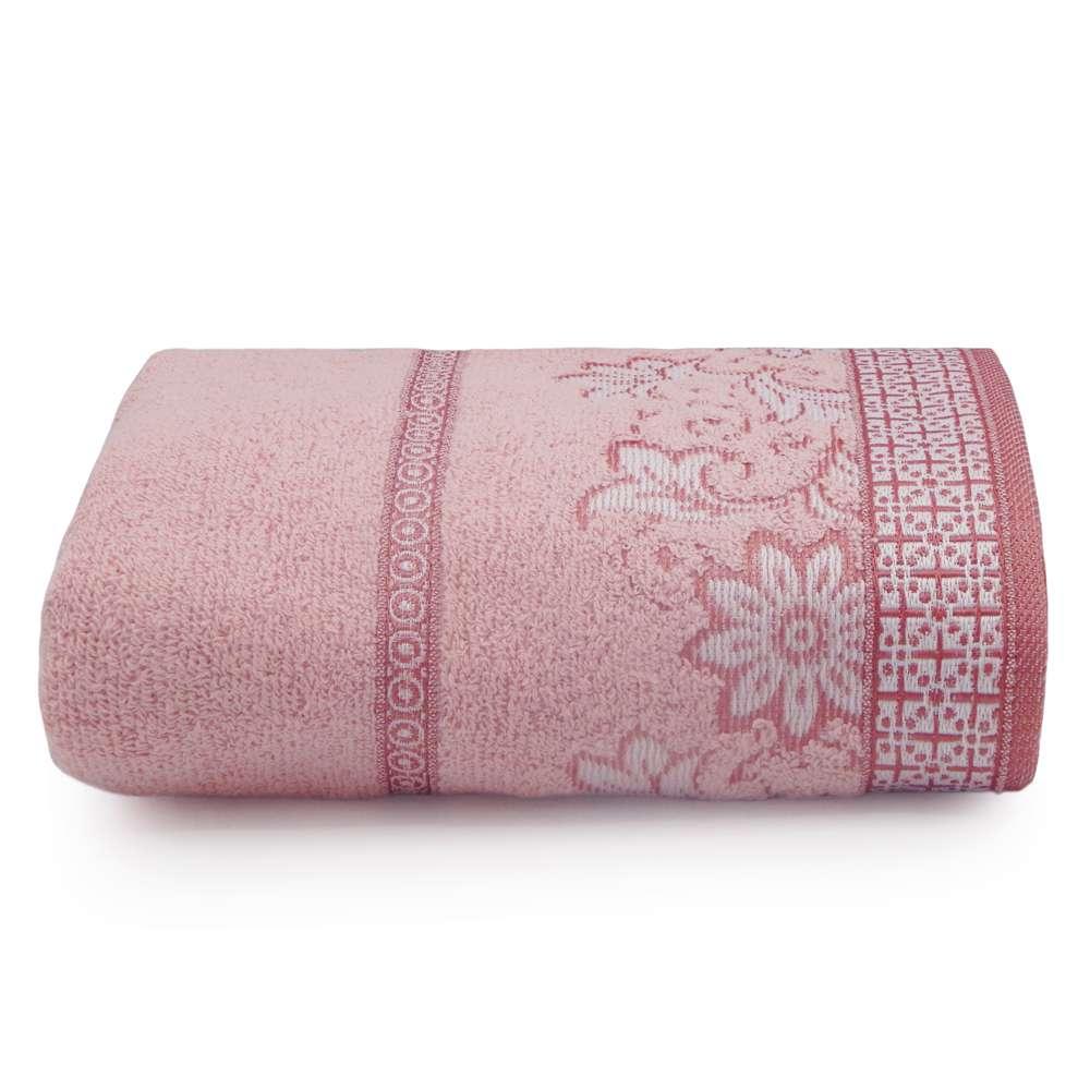 Toalha de Banho Di Fiori 68x1,35 - Toalhas Appel - Rosa quartzo