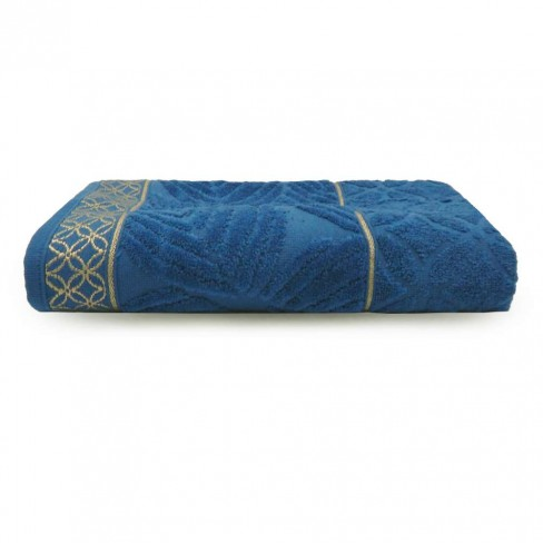 Toalha de Banho Nativa 68x135 - Toalhas Appel - Azul navy