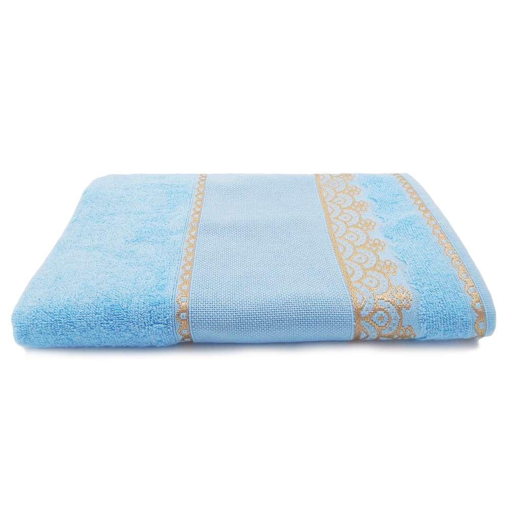 Toalha de Banho Para Bordar Ateliê 68x1,35 - Toalhas Appel - Azul céu