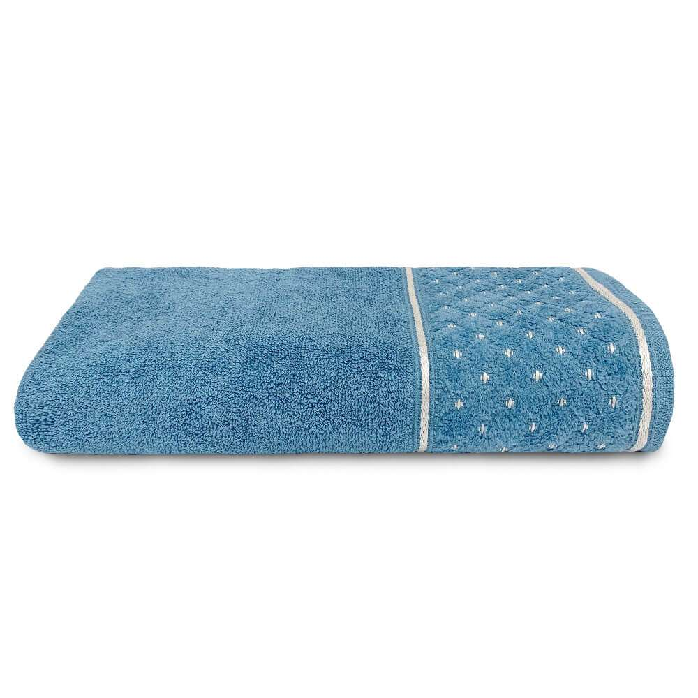 Toalha de Banho Safira 68x1,40 - Toalhas Appel - Azul netuno