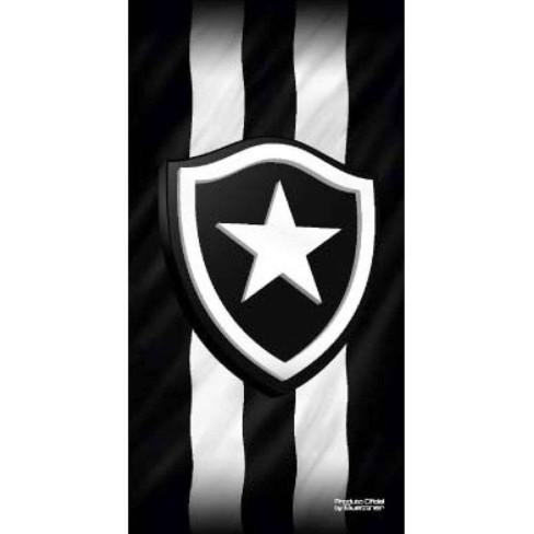 Toalha de Banho Time de Futebol Veludo - Buettner - Botafogo