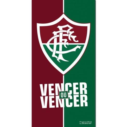 Toalha de Banho Time de Futebol Veludo - Buettner - Fluminense