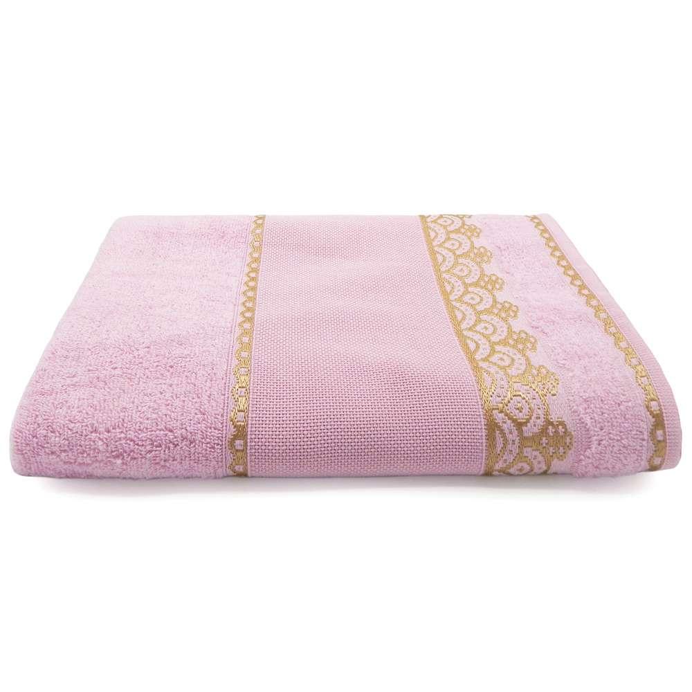 Toalha de Banho Para Bordar Ateliê 68x1,35 - Toalhas Appel - Rosa cintilante