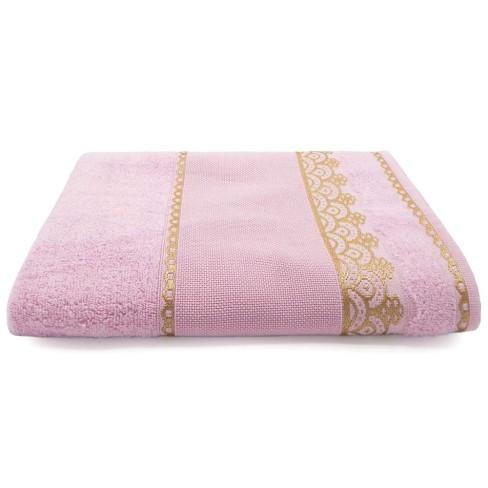 Toalha de Banho Para Bordar Ateliê 78x1,45 - Toalhas Appel - Rosa cintilante