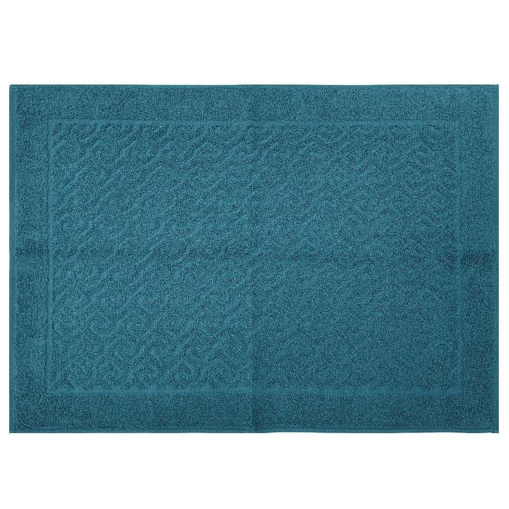 Toalha de Piso Spazio 50x70 - Toalhas Appel - Azul profundo