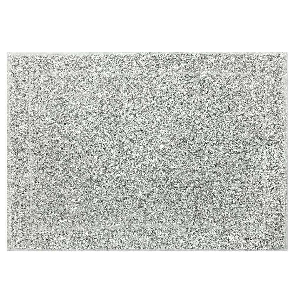 Toalha de Piso Spazio 50x70 - Toalhas Appel - Prata