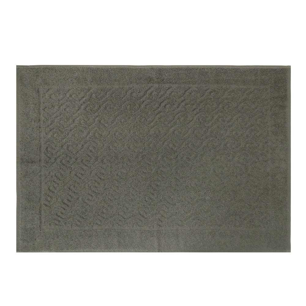 Toalha de Piso Spazio 50x70 - Toalhas Appel - Chumbo