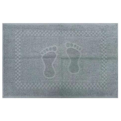 Toalha de Piso Pezinho 45x68 - Toalhas Appel - Cinza mineral