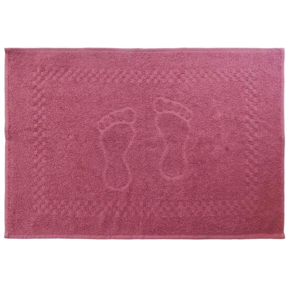 Toalha de Piso Pezinho 45x68 - Toalhas Appel - Rosa glamour