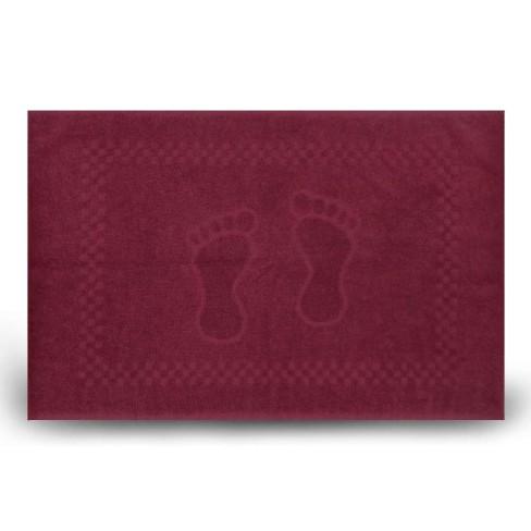 Toalha de Piso Pezinho 45x68 - Toalhas Appel - Vinho nobre