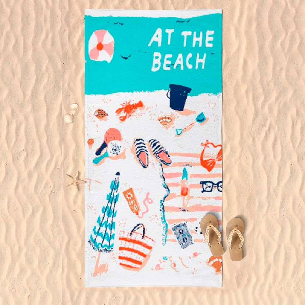 Toalha de Praia Microfibra - Panosul - Summer colors