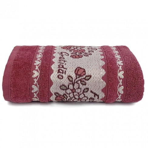 Toalha de Rosto Afetto 50x75 - Toalhas Appel - Rosa glamour