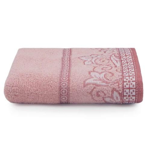 Toalha de Rosto Di Fiori 50x75 - Toalhas Appel - Rosa quartzo