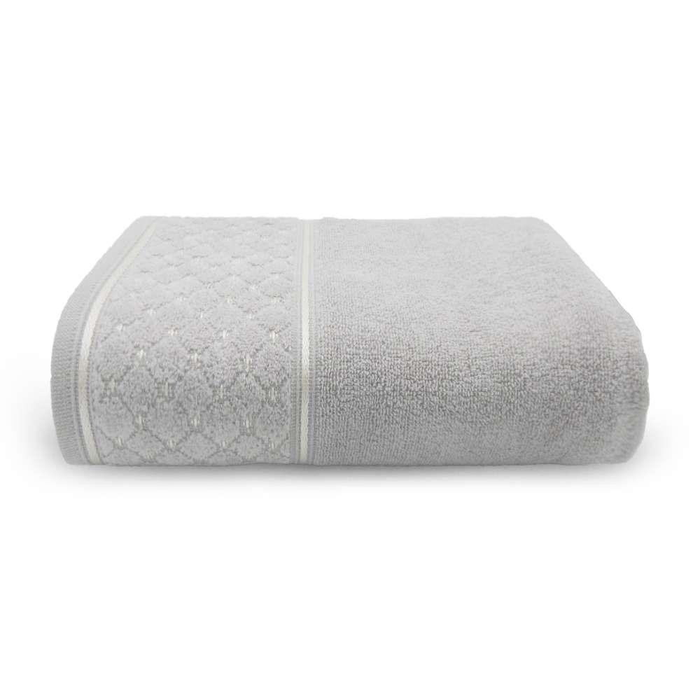 Toalha de Rosto Safira 50x75 - Toalhas Appel - Prata