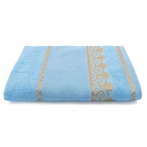 Toalha de Rosto para Bordar Ateliê 50x75 - Toalhas Appel - Azul céu