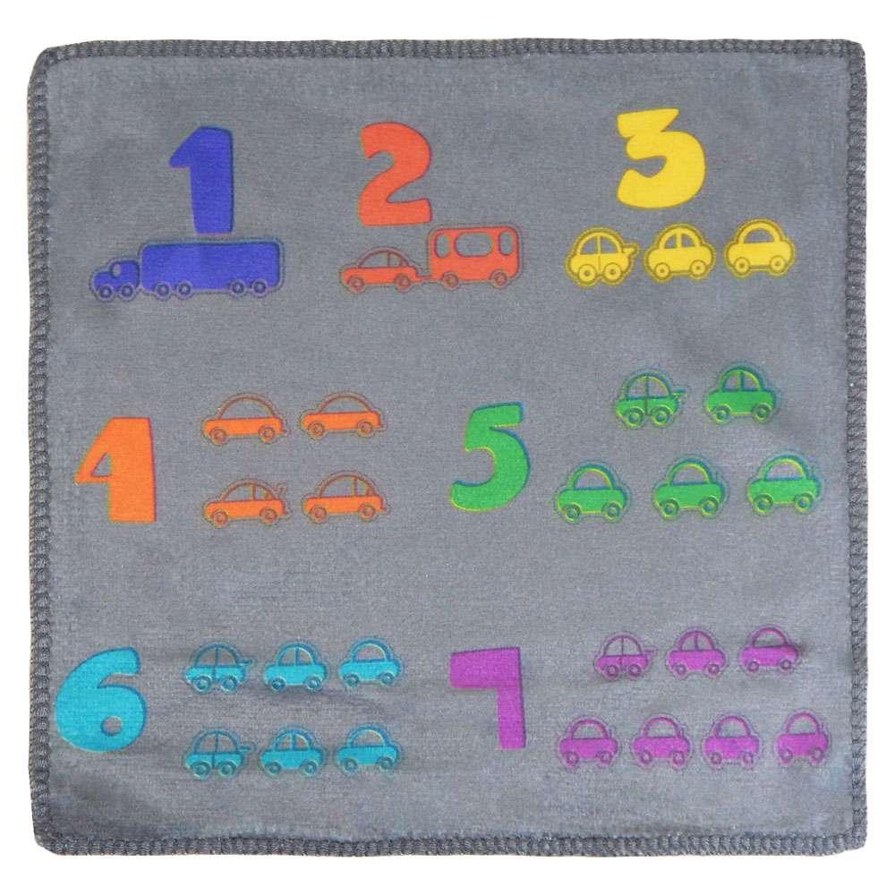 Toalhinha Kids 0,25m x 0,25m - Panosul - Carros