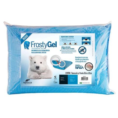 Travesseiro FrostyGel Viscoelástico - Fibrasca - Branco