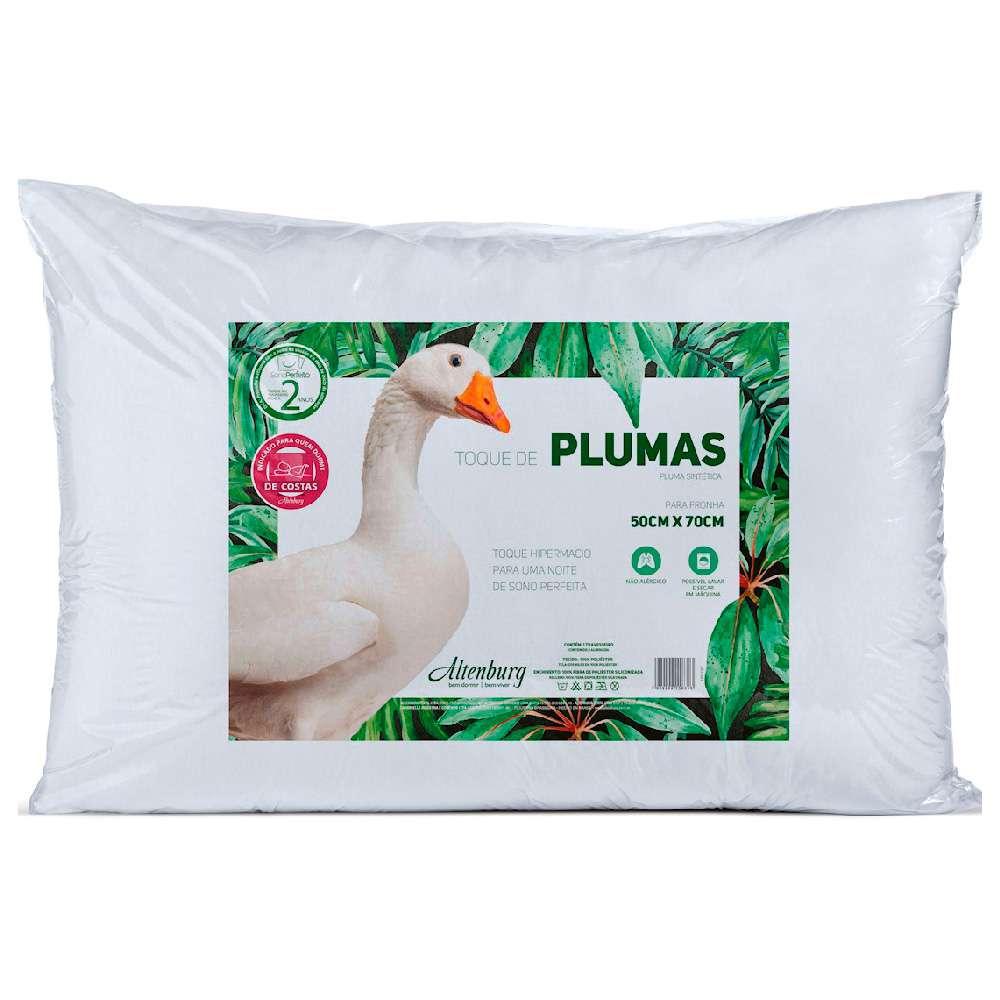 Travesseiro Toque de Plumas 50x70 - Altenburg - Branco